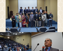 IES organizes Motivational Talk by Dr Kamal ud Din
