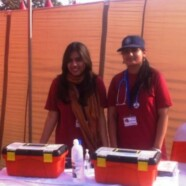 Emergency Services sets up first aid desk at Shaukat Khanum Hospital