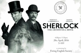 EES to screen 'Sherlock: The Abominable Bride'