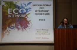 LES and EWC Organizes Internship Drive by WWF