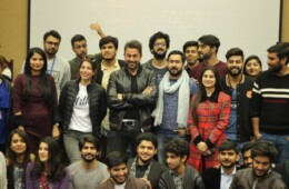 FJS Organizes An Interactive Session With The Cast of ARTH