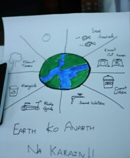 Earth Watch Club organizes Recycling Scavenger Hunt