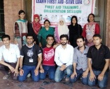 Emergency Services hold training on First Aid and CPR