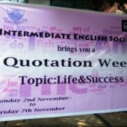IES holds Quotation Week