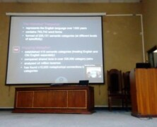 EES holds a talk on Mapping Metaphors