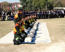 Demonstration of Disaster Management at FC College