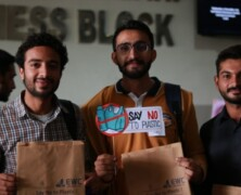EWC Organizes Campaign for Plastic Free Campus