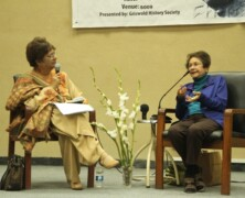 GHS hosts Ms Bapsi Sidhwa in conversation with Prof Ira Hasan