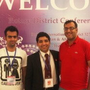 Rotaract Club attends Rotary Conference '13