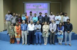 SCS holds a talk on Bioelectronics: Enzyme based bio-devices to power small electronics