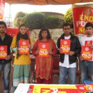 Rotaract Club members join Polio Eradication Drive