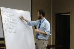 UMS and Philosophy Society arrange lecture on 'Why I am a Mathematical Realist'