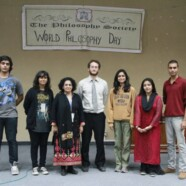 The Philosophy Society Celebrates World Philosophy Day