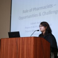 Forman Pharmaceutical Society arranges talk on Challenges and Opportunities for Pharmacists in Hospitals