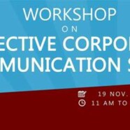 Register for WES' Workshop on Effective Corporate Communications Skills