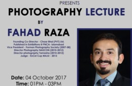 FPS holds a lecture on Photography