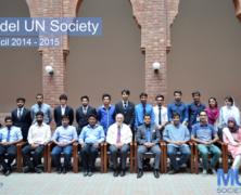 Model UN Society 2014 – 2015