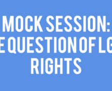Mock Session: The Question of LGBT Rights