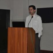 Bazm-e-Fikr-o-Nazar holds lecture by Raza Naeem
