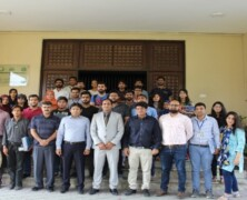 DGS and Department of Geography visits PDMA