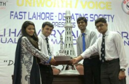 FDS shines at Ali Hajvery All Lahore Bilingual Declamation Champion
