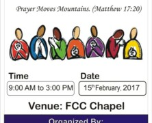 CLP to hold Prayer Chain Day