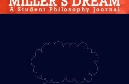 Philosophy Society launched soft copy of its annual journal Miller's Dream 2015