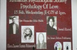 APS Organizes Psychology of Love
