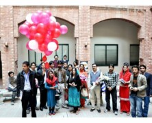 AIDS awareness by Red Crescent Youth Group