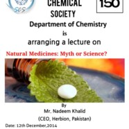SCS to hold lecture on Natural Medicines: Myth or Science