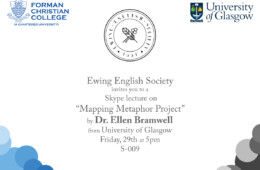 EES to hold a lecture on Mapping Metaphor