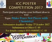 ICC to hold a Poster Competition for Intermediate Students