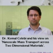 BPS organizes a talk on Nanoscale Mass Transport across Two Dimensional Materials