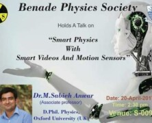 BPS holds a talk on Smart Physics with Smart Videos and Motion Sensors