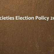 Societies Election Policy 2016
