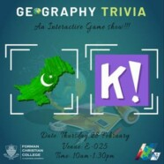 DGS Hosts Geography Trivia