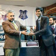 Gadhaun Aslam wins Best English Speaker at Waleed Iqbal Bilingual Declamation Competition
