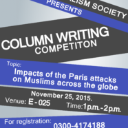Register for FJS' Column Writing Competition