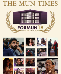 FORMUN'18 Newsletter: The MUN Times