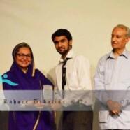 FCC debater stands 1st at Lahore Debating Gala'13