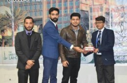 Usama Zulfiqar Bags First Position at UOL's Debating Competition