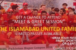 FMS & Forman Sports Society to hold Meet and Greet Session with The Islamabad United Family