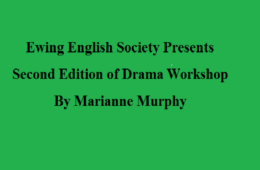 EES to hold Drama Workshop