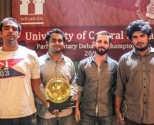 FDS wins All Pakistan UCP Parliamentary Debating Championship