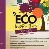 Register now for Eco-Internship Program with EWC