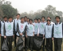 Earth Watch Intermediate students take lead in clean up activity