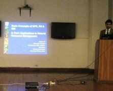 "Earth Watch organizes lecture on ""Use of RS and GIS for Natural Resource Management"" by WWF Pakistan"