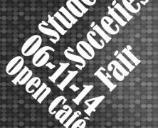 Societies Fair 2014 to held on 6 Nov