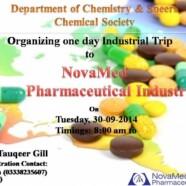 Register for SCS' trip to Novamed Pharmaceuticals