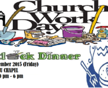 CLP to hold Church Work Day
